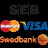 Swedbank, SEB, Citadele, NorvikBank, MasterCard